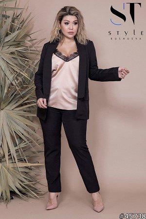 Костюм тройка  45738 (пиджак+майка+брюки)