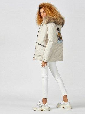 (010-1) куртка (пуховик) жен