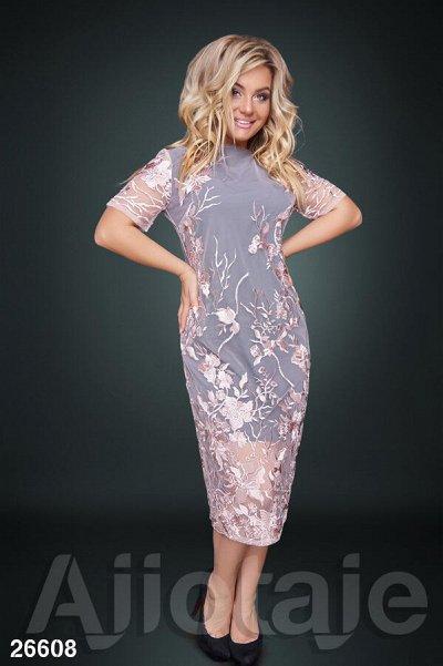 AJIOTAJE-женская одежда 30. До 62 размера — Короткие платья 48+ — Большие размеры