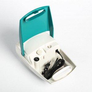 Небулайзер Ergopower ER 401, 60 Вт, компрессорный, 220 В, бело-зеленый