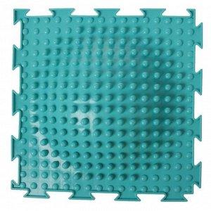 Массажный коврик 1 модуль «Орто. Островок мягкий», цвета МИКС