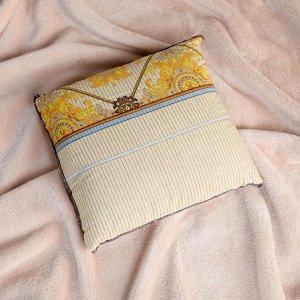 Подушка со стружкой можжевельника, сувенирная, 23?23 см, микс