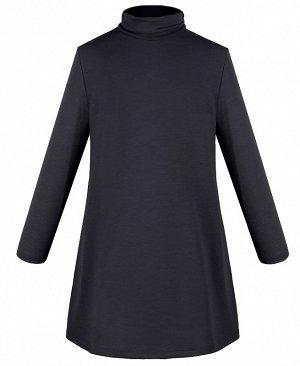 Темно-серое платье для девочки 83685-ДОШ19
