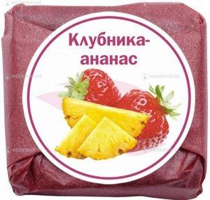 """Фруктовый чай """"Клубника-ананас"""",  кубик 5-7гр"""