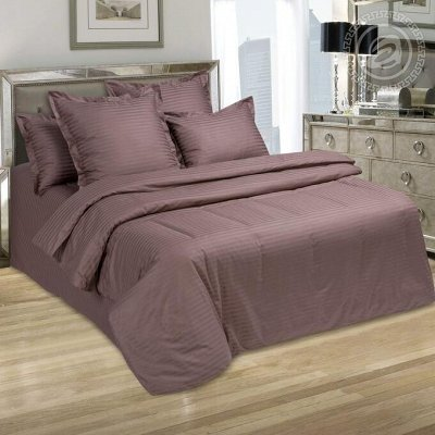 Сладкий сон с Арт*постелькой — Страйп - сатин — Постельное белье