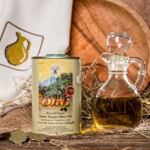 Оливковое масло фермерское Olivi, Греция, жест.банка, 250мл