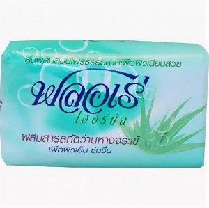 "LION ""Flore Herbal Bar Soap"" Мыло 80гр ""Алоэ Вера"", Таиланд"