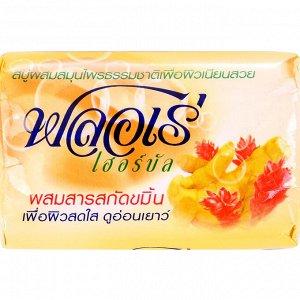 "LION ""Flore Herbal Bar Soap"" Мыло 80гр ""Куркума"" /144шт/ Таиланд"