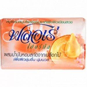 "LION ""Flore Herbal Bar Soap"" Мыло 80гр ""Масло сандалового дерева"" /144шт/ Таиланд"