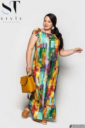 Платье 50050