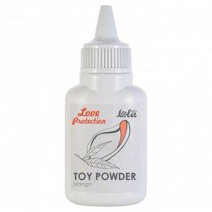 Пудра для игрушек ароматизированная love protection манго 15гр
