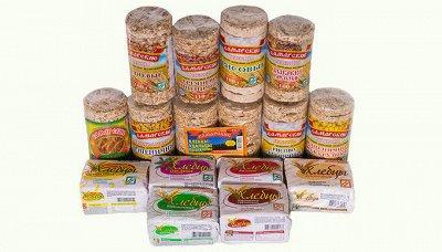 Мегараспродажа ЭКОпродуктов - 104 — Хлебцы. Клетчатка. Чипсы. — Диетическая бакалея