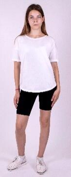 Фуфайка Овер сайз футболка без принтов и символики. Свободного силуэта. Отличная база для повседневного использования или занятий спортом.