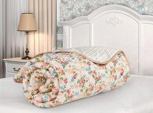 """Одеяло """"Бамбук"""" стеганое облегченное сатин 140х205 (плотность 150г/м2) Мадонна"""