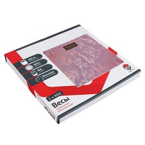 Весы напольные электронные до 180 кг, арт.019