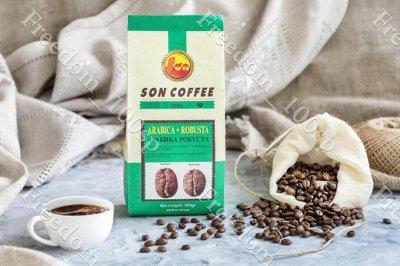 ☕Вкусный Вьетнам. Чай, кофе, манго и прочие вкусности! — Лучшая цена на SON COFFE: молотый и зерно. — Кофе и кофейные напитки