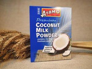 """Кокосовый порошок """"Сухое кокосовое молоко"""" AYAM 150 гр(50 г*3) картон. упак. 1*8"""