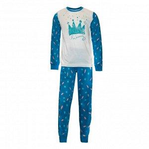 Пижама для девочек арт 11142-1
