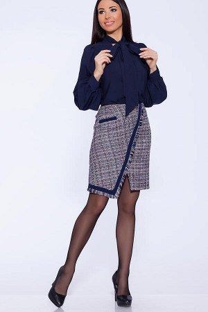 Теплая юбка. длина  как на фото.