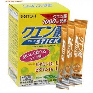 ITOH Саприл Лимонная кислота c Витамином В2, B6, 30 шт. в упаковке.