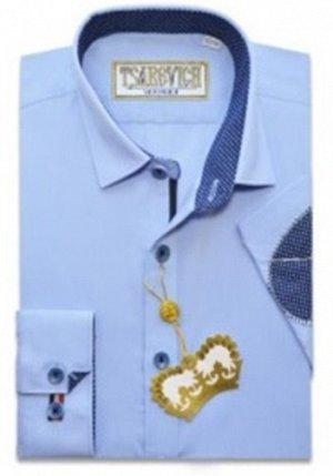 Сорочка детская Tsarevich Cashmere Blue LOK(80%хлопок 20%полиэстер)