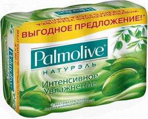 Мыло т. PALMOLIVE Натурэль 4х90г Интенсивное увлажнение (Олива)