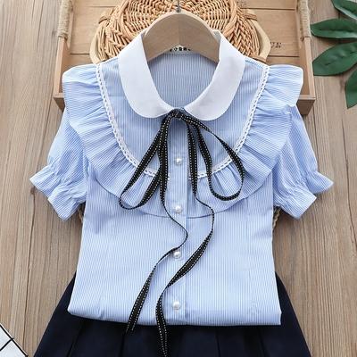 Лето только для детей! Одежда, обувь, летний инвентарь! — Рубашки и блузки для девочек — Блузки, туники
