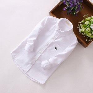 Рубашка белая рост  140-149