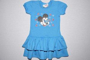 Платье Минни Маус (голубое)