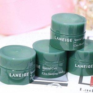 Laneige Cica Sleeping Mask Sample Ночная восстанавливающая маска для проблемной и чувствительной кожи 10 мл
