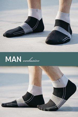 4С806 Носки мужские укороченные демисезонные