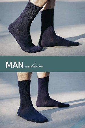 Носки мужские с ослабленной широкой резинкой демисезонные