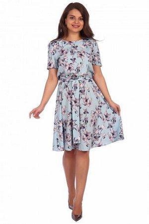 Платье Аэлина (2163). Расцветка: ментол