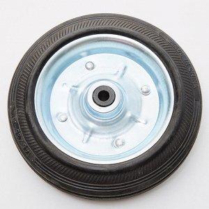 Колесо для багажной тележки (модели DT-23 и ТБР-23) металлическое, диаметр 14 см DT-23K