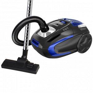 Пылесос 2200 Вт LUX DL-0848 черный с синим