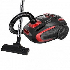 Пылесос 2200 Вт LUX DL-0848 черный с красным