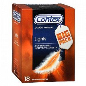 CONTEX Lights (особо тонкие) Презервативы №18