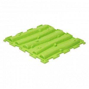 Массажный коврик 1 модуль «Орто. Лесенка», жёсткий, цвета МИКС