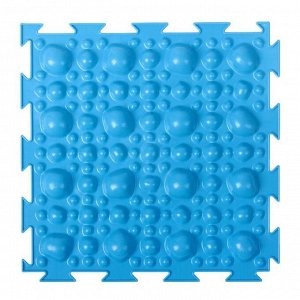 Массажный коврик 1 модуль «Орто. Камни жёсткие», цвета МИКС