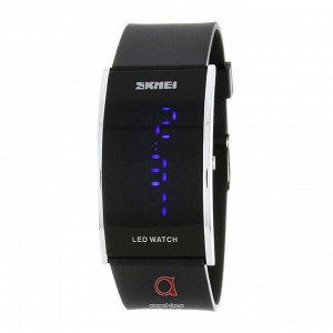 Классные часы Skmei 0805 черные, думаю унисекс