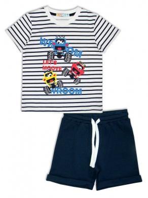 Комплект для мальчика: шорты + футболка