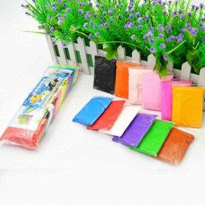 Воздушный пластилин для лепки 12 цветов*15гр.