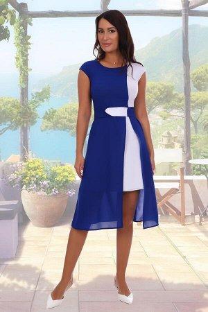 Платье состав: 95% ПЭ, 5% эластан, ткань: масло  , шифон. Красивое двухцветное платье из шифона и масла с поясом. Пояс съемный, эластичный, регулирующийся. Легкое и удобное в повседневном использовани