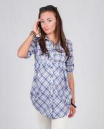 Рубашка для беременной очень легкая. Цена ниже СП