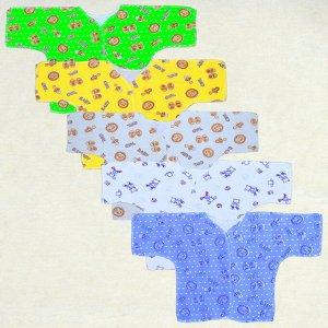 Распашонка Цвет: Микс; Размер: 56-36; Материал: интерлок; Модель: с длинным рукавом; Цвет: Микс; Размер: 56-36; Материал: интерлок; Модель: с длинным рукавом; Состав: 100% хлопок Описание Распашонка с