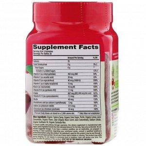 VitaFusion, Organic Women&#x27 - s Multi, Wild Cherry, 90 Vegetarian Gummies