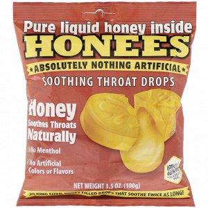 Honees, медовые леденцы, 20 King Size Drops
