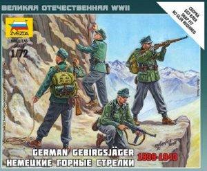 Зв.6154 Немецкие горные стрелки /40