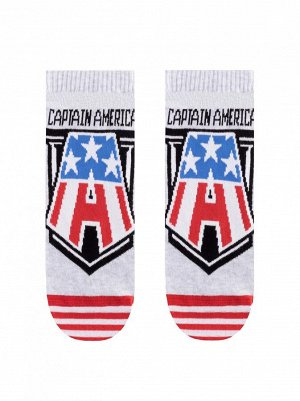 17С-141СПМ DiWaRi Marvel Носки мужские (Conte) рис 074 Капитаном Америка