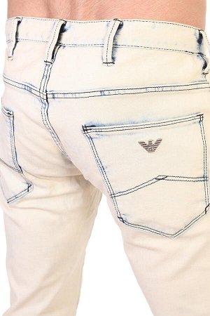 Вываренные мужские джинсы – хитовый club-style, круто «горят» в неоне №275